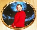 Star Trek 25th Anniversary Collector Plate Scotty