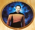 Star Trek Next Generation (TNG) Collector Plate Commander Data