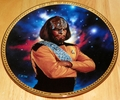 Star Trek Next Generation (TNG) Collector Plate Worf