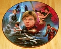 Star Wars Heroes and Villains Collector Plate Luke Skywalker