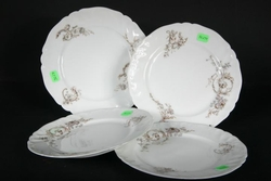 Limoges France A Lanternier Set of 4 Plates SOLD