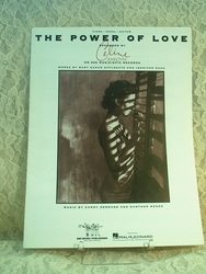 Sheet Music The Power of Love Celine Dion