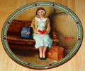 Collector Plate A Young Girl's Dream Norman Rockwell American Dream Series
