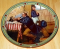 Collector Plate Musician's Magic Norman Rockwell American Dream Series