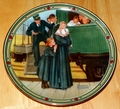 Collector Plate An Orphan's Hope Norman Rockwell American Dream Series