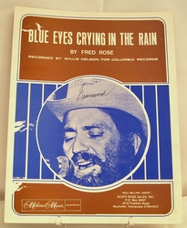 Sheet Music Blue Eyes Crying in the Rain