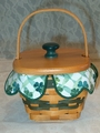 Longaberger 1999 Feature Lots of Luck Basket Set
