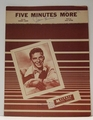 Five Minutes More Frank Sinatra- Sheet Music