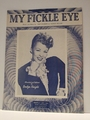 My Fickle Eye - Sheet Music
