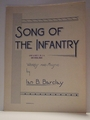 Song of The Infantry - Sheet Music