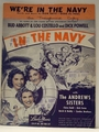 We're In The Navy - Sheet Music