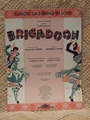 Collectible Sheet Music Almost Like Being in Love - Musical Brigadoon