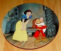 Disney Collector Plate Knowles Snow White Stubborn Grumpy