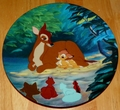 Disney Collector Plate Hello Little Prince Bambi Series