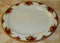 Royal Albert Old Country Roses Platter 16 inches Made in England