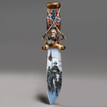 Collectible Replica Art Knife Legends Of The Civil War Robert E. Lee