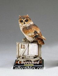 Armani Figurine Wise Owl 207 S Retired