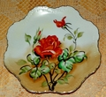 Lefton Vintage Collector Plate Pattern NE2513