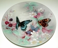 Collector Plate Lena Liu Butterflies Red Spotted Purples On Gossamer Wings