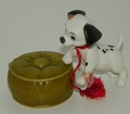 Disney Ornament WDCC Event Piece Lucky 101 Dalmations
