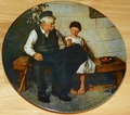 Collector Plate The Lighthouse Keeper's Daughter Rockwell Heritage Collection 1979