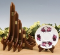 Wood Plate Stands