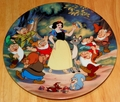 Disney Collector Plate Knowles/Bradford Snow White Treasured Moments Collection