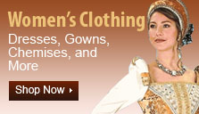 Women's Renaissance Clothing