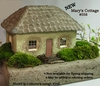 Mary's Miniature Garden Cottage