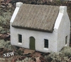 Miniature French Le Jardin Blanc Cottage