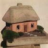 Miniature Scottish Rose Stone Cottage