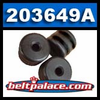 "Comet 203649A - Sold as 3-Pack ""MEDIUM"" Roller Cams for 40C Drive Clutch. Comet Industries 40 Series Drive Clutch Part (fig. #2)."