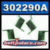 "Comet 302290A - Pack of 6 ""GREEN"" 500 Series Drive Clutch replacement Spring Kit, Green."
