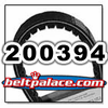 COMET 200394A, Comet Industries belt replacement for CAT99 Series, 993-75 Go Kart belt.