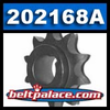 Comet 202168A OEM Replacement Sprocket. Replaces: Kenbar 300-024, Baja Motorsports BB65-401.