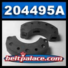 "Comet 204495A. ""2 Pack"" Comet Industries 204495A, 3.5"" Clutch Shoes. Replaces: Comet 204495-A."