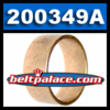 200349A (1-Pack) Bronze Bushing. Replaces OEM Bronze Bushing for TC88, 20, 30 Series belt drive Go Kart Clutch.