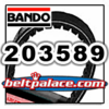 BANDO 203589 PREMIUM CVT BELT. Replaces OEM COMET 203589 (A-DF), MANCO 5959, Kenbar 300-009, COMET Belt 994-70 for Comet 30 Series Clutch