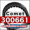 Comet 300661 Go Kart, Golf Cart, and ATV Belt. Replaces OEM 500 and 858 Series 704094 Drive Belt