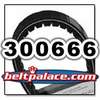 Comet 300666 (A-C) Drive Belt. Comet Industries 300666-704126 BELT.