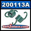 Comet 200113A Green Clutch Springs. Package of 2. �Green� springs for 350 Series Clutch. 1300/1500 engagement. Comet 200113-A.