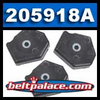 Comet 205918A 3-Pack. Comet Industries 205918 Activator Pucks for 94C Duster Centrifugal Clutch System (Smooth Cover).