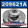 Comet 209621A. Comet Industries 44D Series Driven Pulley. THREADED Post & Cam.