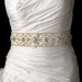 Vintage Beaded Wedding Sash Bridal Belt 13