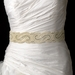 * Pearl & Rhinestone Wedding Sash Bridal Belt 17
