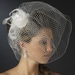 * Flower V Cage Feather Fascinator Headpiece 7120
