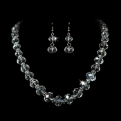 Crystal Bead Matching Jewelry Sets