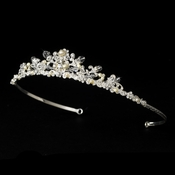 Freshwater Pearl and Swarovski Crystal Tiara HP 7052