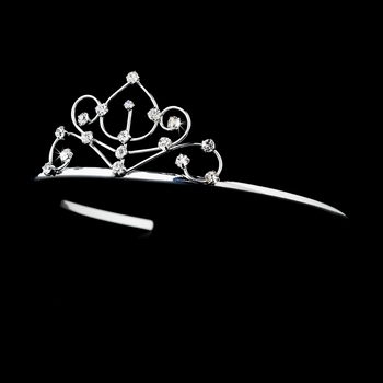 Silver w/ Clear Stones Child's Tiara HPC 42861 ** Discontinued**