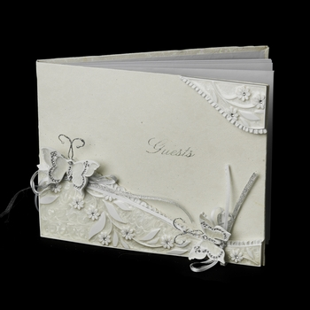 Enchanting Butterfly Guest Book 463